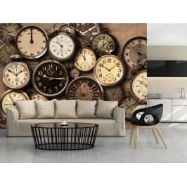 Tapeta na stěnu Čas (150x105 cm) - Murando DeLuxe