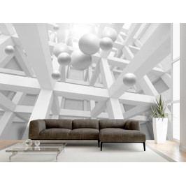 Enkláva bílé (150x105 cm) - Murando DeLuxe