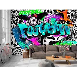 Sportovní graffiti (150x105 cm) - Murando DeLuxe