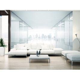 3D tapeta - Bílé město (150x105 cm) - Murando DeLuxe