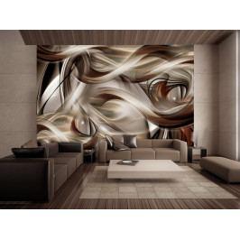 Tapeta bronzový tanec (150x105 cm) - Murando DeLuxe