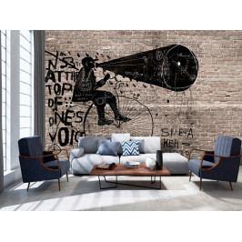 Vzkaz na zdi (150x105 cm) - Murando DeLuxe