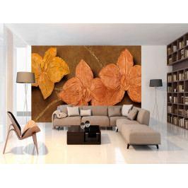 Malované květy (150x105 cm) - Murando DeLuxe
