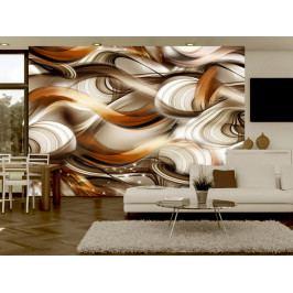 Abstraktní vlnobití (150x105 cm) - Murando DeLuxe