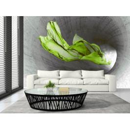 Tapeta Zelený závoj (150x105 cm) - Murando DeLuxe
