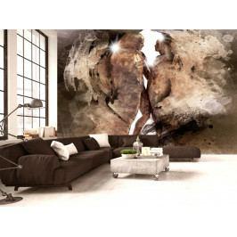 Tapeta pevné pouto II. (150x105 cm) - Murando DeLuxe