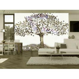 Tapeta strom v Edenu (150x105 cm) - Murando DeLuxe