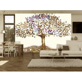 Tapeta zlatý strom (150x105 cm) - Murando DeLuxe