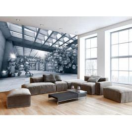 Olověné bubliny (150x105 cm) - Murando DeLuxe
