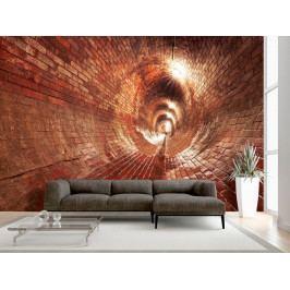 Cihlová kanalizace (150x105 cm) - Murando DeLuxe