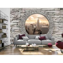 Tajemné okno do New Yorku (150x105 cm) - Murando DeLuxe