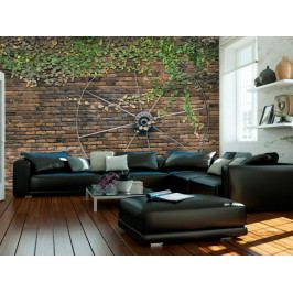 Vesnická stěna (150x105 cm) - Murando DeLuxe