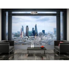 Fototapeta  výhled na Londýn (150x105 cm) - Murando DeLuxe