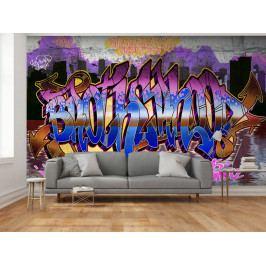 Barevné graffiti (150x105 cm) - Murando DeLuxe