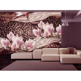 Růžové perly (150x105 cm) - Murando DeLuxe