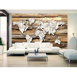 Mapa času (150x105 cm) - Murando DeLuxe