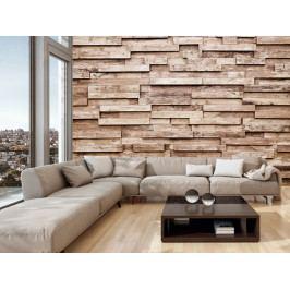 Tapeta dřevěné obložení (150x105 cm) - Murando DeLuxe