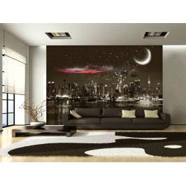 Hvězdná noc  New York (150x105 cm) - Murando DeLuxe