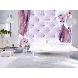 Lilie ve fialové (150x105 cm) - Murando DeLuxe