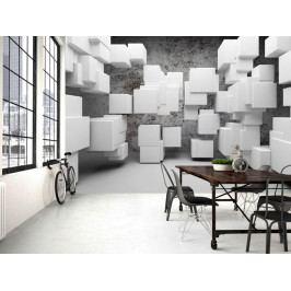 3D tapeta kostky (150x105 cm) - Murando DeLuxe