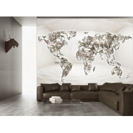 Tapeta Diamantový svět (150x105 cm) - Murando DeLuxe