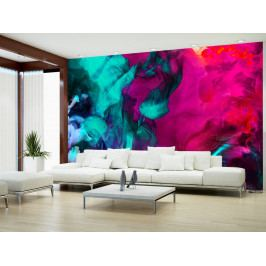 Tapeta barevný dým (150x105 cm) - Murando DeLuxe
