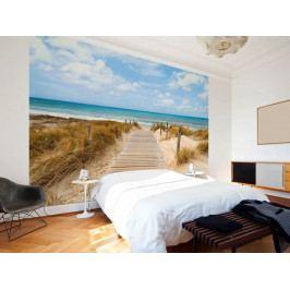 Tapeta cesta na pláž (150x105 cm) - Murando DeLuxe