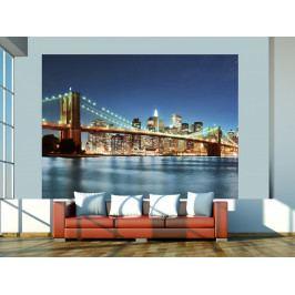 Fototapeta Brooklynský most II (150x116 cm) - Murando DeLuxe
