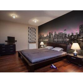 Fototapeta barevná záře nad NYC (150x116 cm) - Murando DeLuxe