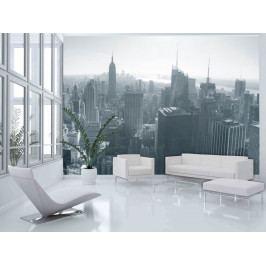 Fototapeta - Černo bílý New York (150x116 cm) - Murando DeLuxe