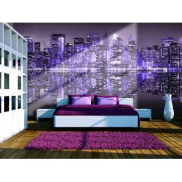Ultra Violet NYC (150x116 cm) - Murando DeLuxe