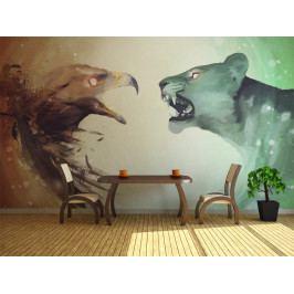 Orel a tygr (150x116 cm) - Murando DeLuxe