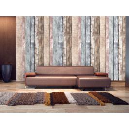 Tapeta barevné dřevo (150x116 cm) - Murando DeLuxe