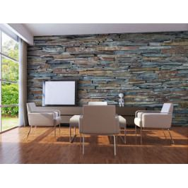 Kamenná stěna barevná (150x116 cm) - Murando DeLuxe