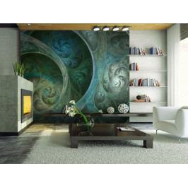 Tapeta dotek hedvábí (150x116 cm) - Murando DeLuxe