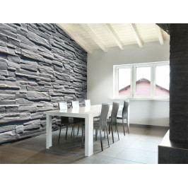 Tapeta šedý kámen (150x105 cm) - Murando DeLuxe