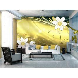 Tapeta magická žlutá (150x105 cm) - Murando DeLuxe