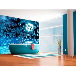 Tapeta Voda s bublinkami (150x116 cm) - Murando DeLuxe