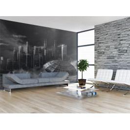 Tapeta mise budoucnosti (150x116 cm) - Murando DeLuxe