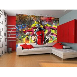 Fototapeta Graffiti (150x116 cm) - Murando DeLuxe