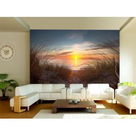 Západ slunce nad oceánem (150x116 cm) - Murando DeLuxe