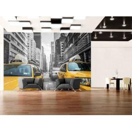Tapeta města - New York taxi (150x105 cm) - Murando DeLuxe