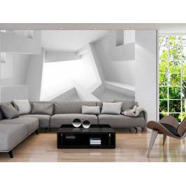 3D tapeta - bílá (150x105 cm) - Murando DeLuxe