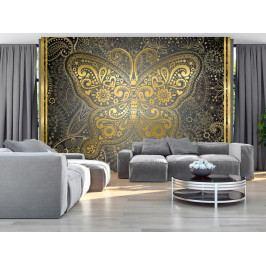 Zlatý motýl (150x105 cm) - Murando DeLuxe