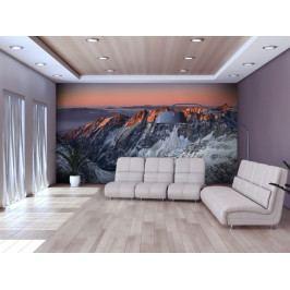 Krásné svítání v Skalistých horách (150x116 cm) - Murando DeLuxe