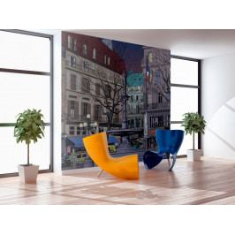 Život ve městě (150x116 cm) - Murando DeLuxe