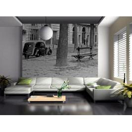 Fototapeta - auto v ulici (150x116 cm) - Murando DeLuxe