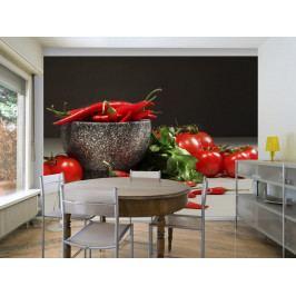Červená zelenina (150x116 cm) - Murando DeLuxe