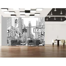 Tapeta na stěnu New York (150x116 cm) - Murando DeLuxe
