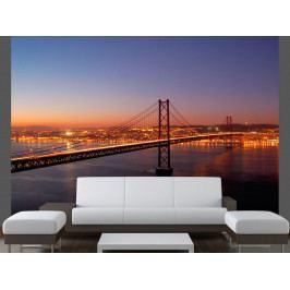 Fototapeta Bay Bridge San Francisko (150x116 cm) - Murando DeLuxe